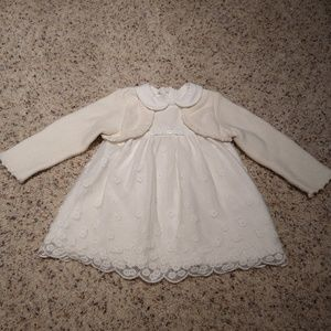 Mayoral Light Off-White Dress - perfect condition!